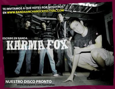Karma Fox GRABANDO EL DISCO